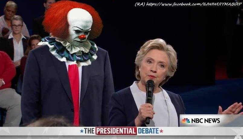 trump-as-pennywise